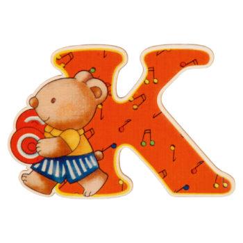 lettera in legno K