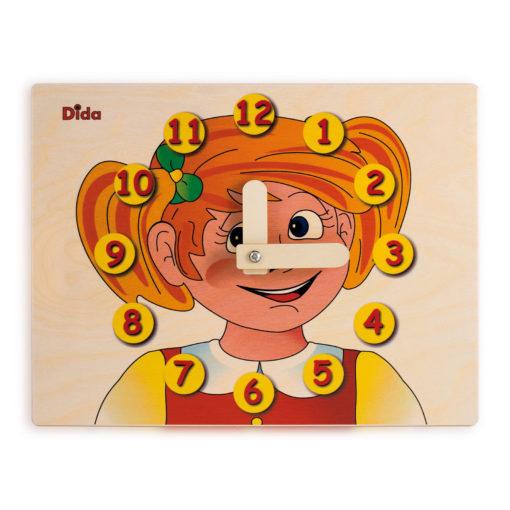 Orologio didattico Bimba esercizio didattico metodo Montessori - Dida