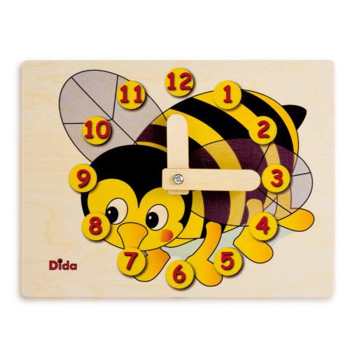 Orologio didattico Ape -orologio apprendimento per misurare il tempo -Dida