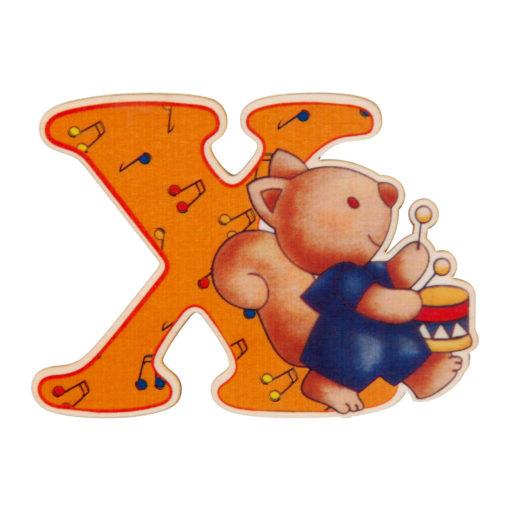 lettera in legno X