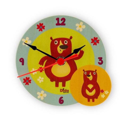 orologio tavolo orsi