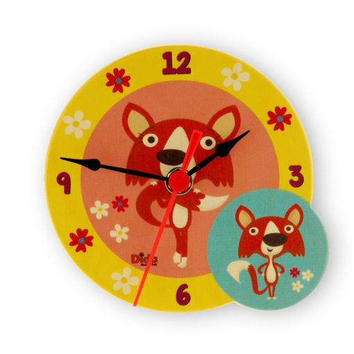 orologio tavolo volpi