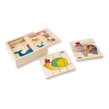 puzzle semplificato animaletti