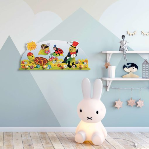 Attaccapanni bambino-Animaletti-appendiabiti da parete per l'infanzia-Dida