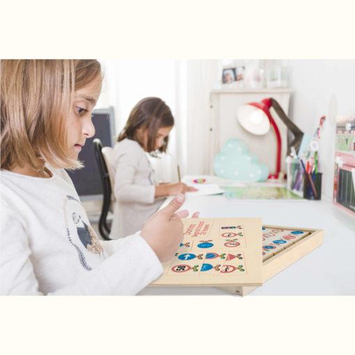 Domino segnali stradali 28 pz.- gioco da tavolo - educazione stradale -Dida