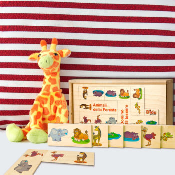 Domino Foresta degli animali, il gioco da tavolo per tutta la famiglia - Dida