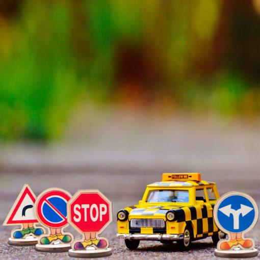 Segnali stradali per bambini - educazione stradale - gioco educativo - Dida