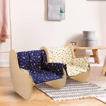 Divanetto bimbi in legno, arreda la cameretta con mobili per bambini - Dida