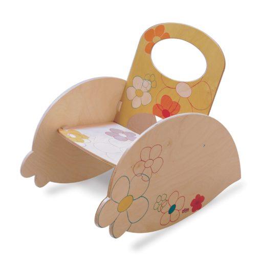 Sedia a dondolo bimbo - Mobili per bambini in stile Montessori - Dida