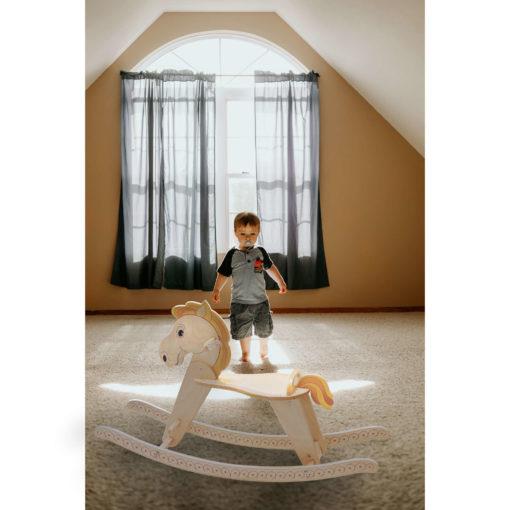 Cavallo a dondolo -giochi di cavalli da cavalcare -dondolo per bambini-Dida