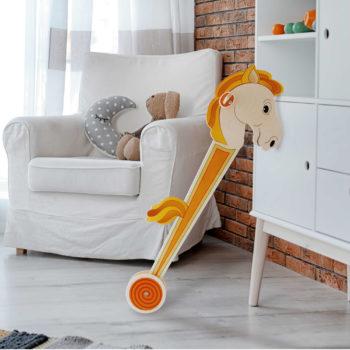 Cavalluccio di legno - giochi di cavalli da cavalcare - cavalli giocattolo- Dida