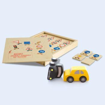 Memo segnali stradali - gioco da tavolo - educazione stradale - Dida