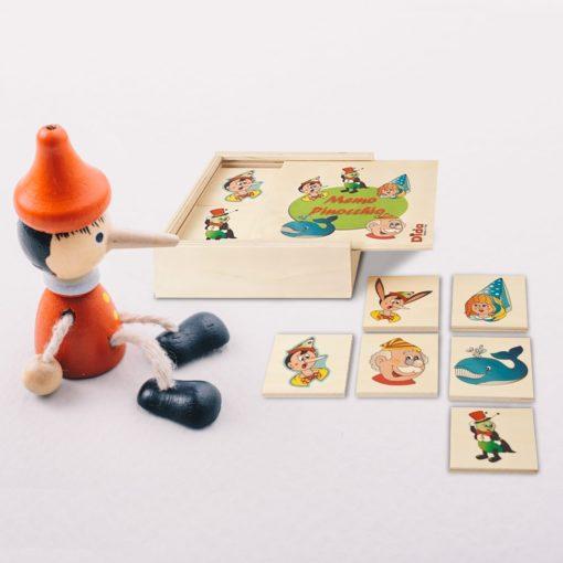 Memo Pinocchio - memory game - gioco da tavolo per bambini - Dida