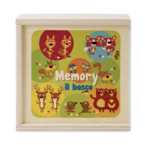 Memory il bosco gioco delle coppie di animaletti - gioco di memoria - Dida