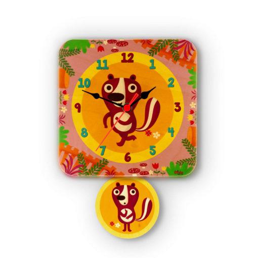 Orologio pendolo Puzzole per la cameretta dei bambini-Dida