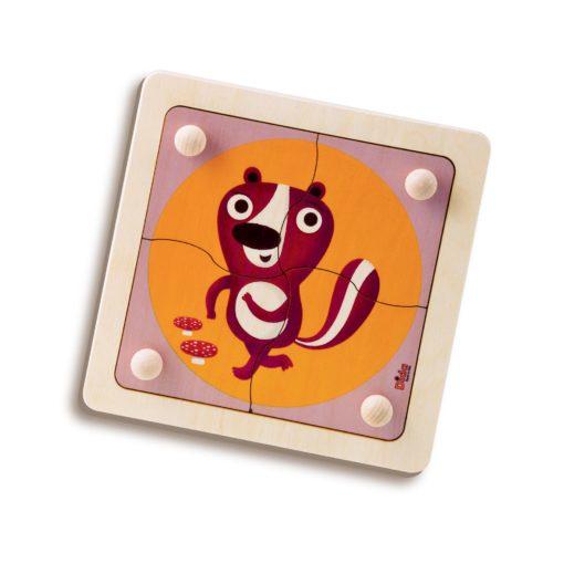 Puzzle Puzzola - incastri e puzzle facili per bimbi piccoli - Dida