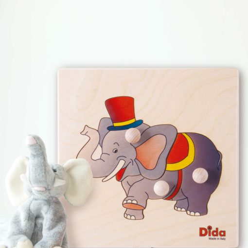 puzzle elefante