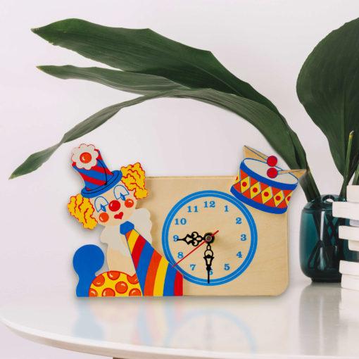 orologio tavolo clown