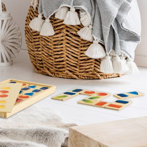 Domino solidi - geometria per bambini - gioco e sussidi didattici - Dida