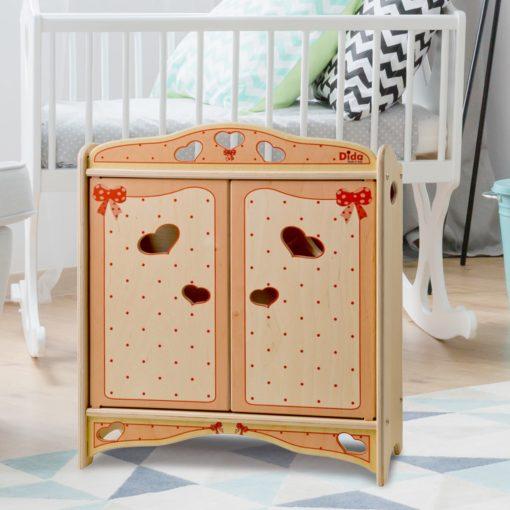 armadio bambole fiocco