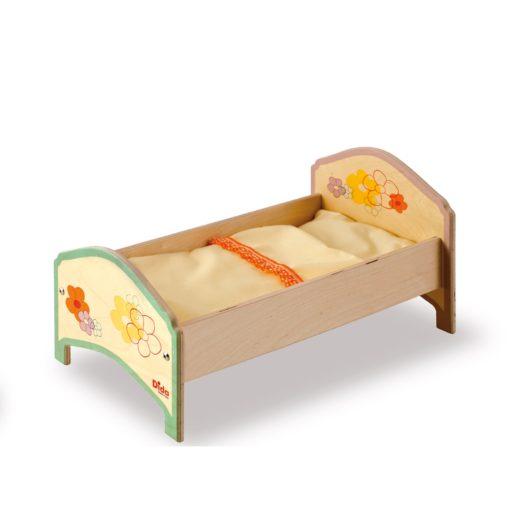 Lettino giocattolo Fiore per bambole e bambini dai 2 anni di età - Dida