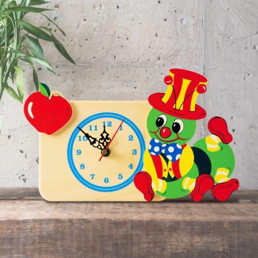orologio tavolo bruco mela